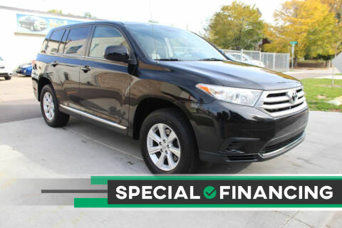 2012 Toyota Highlander for sale at K & L Auto Sales in Saint Paul MN