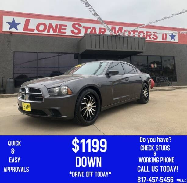 2014 Dodge Charger for sale at LONE STAR MOTORS II in Fort Worth TX