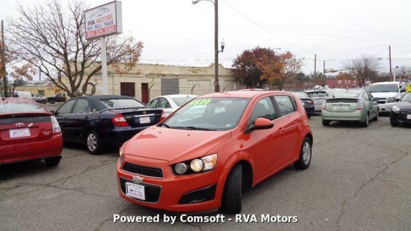 2012 Chevrolet Sonic for sale at RVA MOTORS in Richmond VA