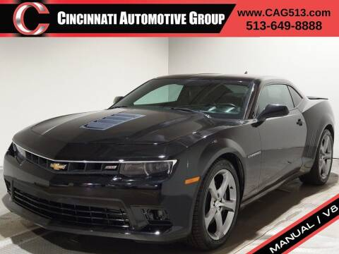 2014 Chevrolet Camaro for sale at Cincinnati Automotive Group in Lebanon OH