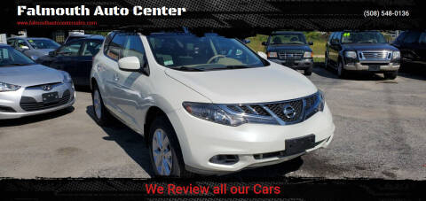 2011 Nissan Murano for sale at Falmouth Auto Center in East Falmouth MA