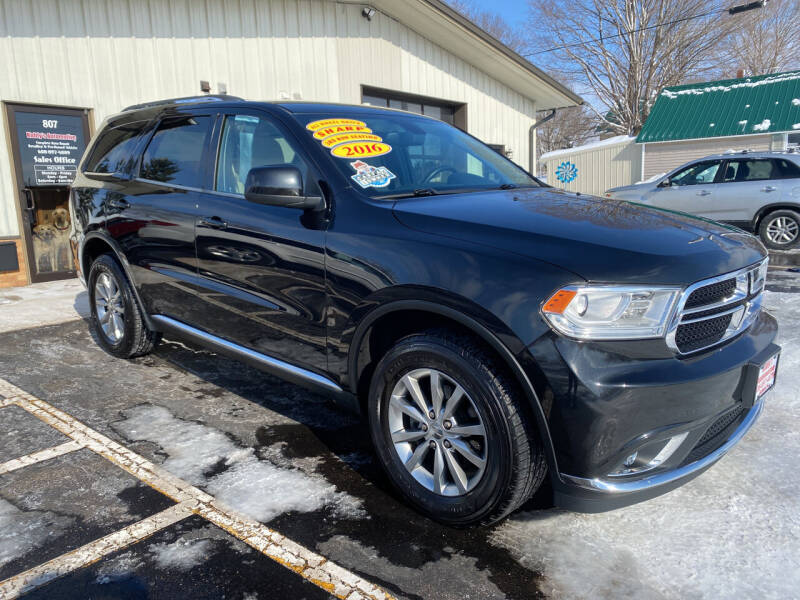 2016 Dodge Durango for sale at Kubly's Automotive in Brodhead WI