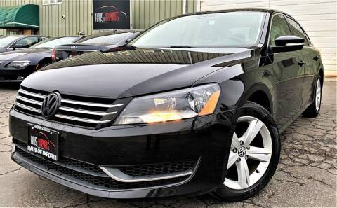 2013 Volkswagen Passat for sale at Haus of Imports in Lemont IL