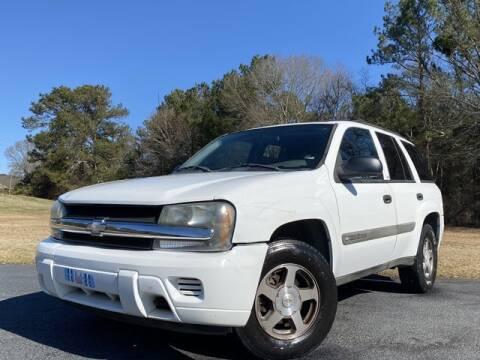 2004 Chevrolet TrailBlazer for sale at Global Pre-Owned in Fayetteville GA