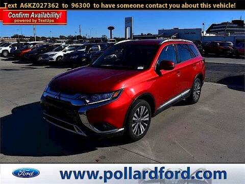 2019 Mitsubishi Outlander for sale at South Plains Autoplex by RANDY BUCHANAN in Lubbock TX