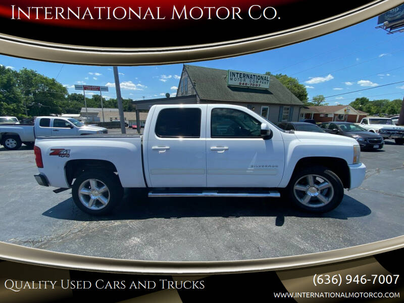 2010 Chevrolet Silverado 1500 for sale at International Motor Co. in Saint Charles MO