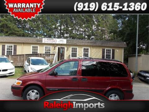 2002 Chevrolet Venture for sale at Raleigh Imports in Raleigh NC