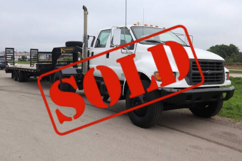 2000 Ford F-750 Super Duty for sale at Signature Truck Center in Crystal Lake IL