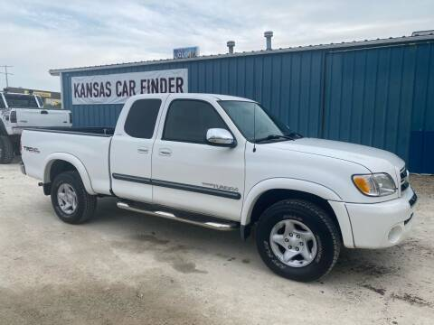 2003 Toyota Tundra for sale at Kansas Car Finder in Valley Falls KS