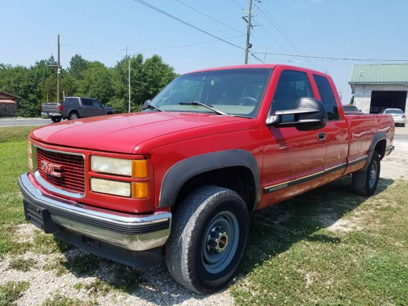 1998 GMC Sierra 2500 for sale at Arkansas Wholesale Auto Sales in Hot Springs AR