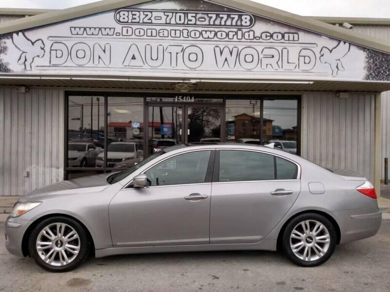 2010 Hyundai Genesis for sale in Houston, TX