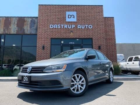 2015 Volkswagen Jetta for sale at Dastrup Auto in Lindon UT