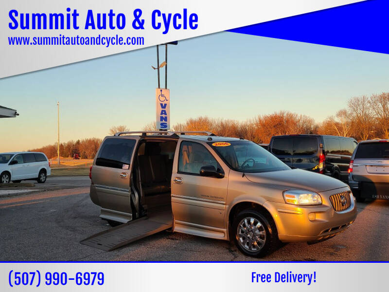2006 Buick Terraza for sale at Summit Auto & Cycle in Zumbrota MN