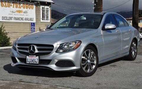 2015 Mercedes-Benz C-Class for sale at AMC Auto Sales, Inc. in Fremont CA