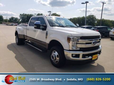 2019 Ford F-350 Super Duty for sale at RICK BALL FORD in Sedalia MO