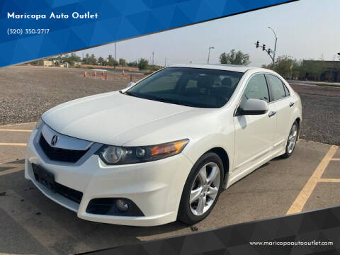 2010 Acura TSX for sale at Maricopa Auto Outlet in Maricopa AZ
