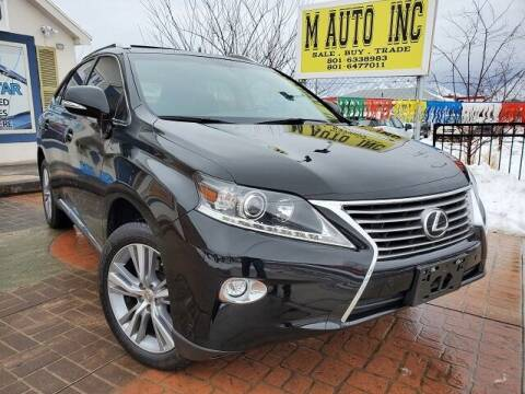 2015 Lexus RX 350 for sale at M AUTO, INC in Millcreek UT