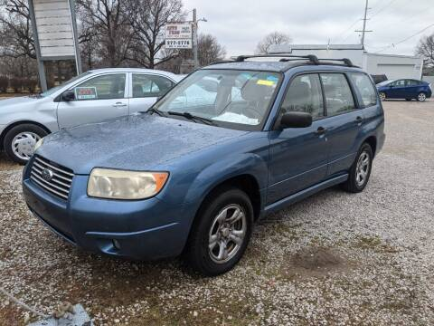2007 Subaru Forester for sale at AUTO PROS SALES AND SERVICE in Belleville IL