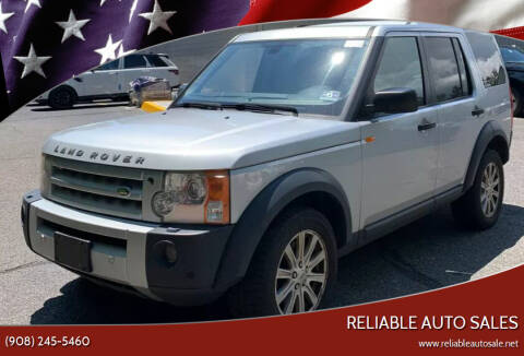 2008 Land Rover LR3 for sale at Reliable Auto Sales in Roselle NJ