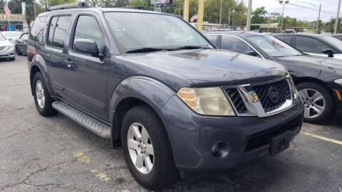 2010 Nissan Pathfinder for sale at Castle Used Cars in Jacksonville FL