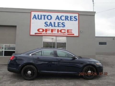2013 Ford Taurus for sale at Auto Acres in Billings MT