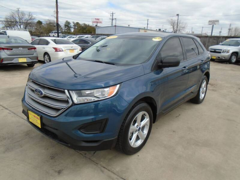 2016 Ford Edge for sale at BAS MOTORS in Houston TX