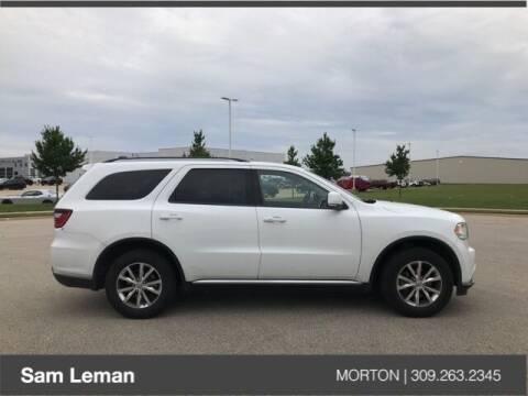 2016 Dodge Durango for sale at Sam Leman CDJRF Morton in Morton IL