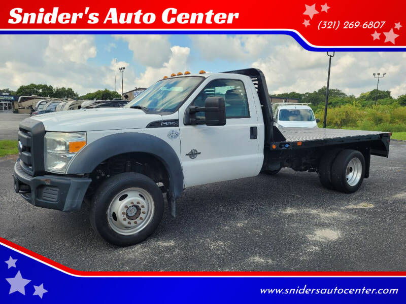 2014 Ford F-550 Super Duty for sale at Titus Trucks in Titusville FL
