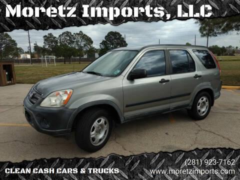 2005 Honda CR-V for sale at Moretz Imports, LLC in Spring TX