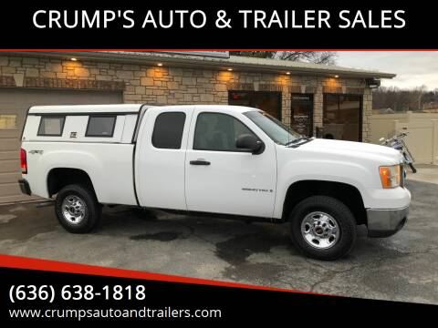 2009 GMC Sierra 2500HD for sale at CRUMP'S AUTO & TRAILER SALES in Crystal City MO