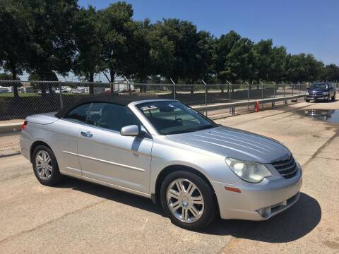 2008 Chrysler Sebring for sale at TETCO AUTO SALES  / TETCO FUNDING in Dallas TX