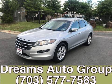 2011 Honda Accord Crosstour for sale at Dreams Auto Group LLC in Sterling VA