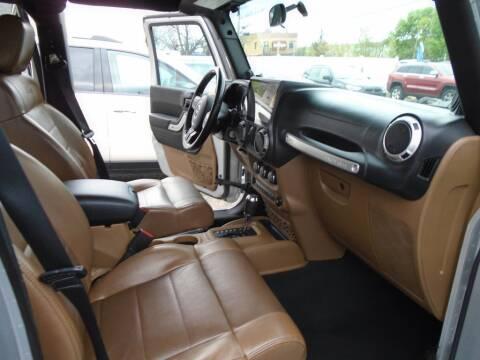 2011 Jeep Wrangler Unlimited for sale at Gemini Auto Sales in Providence RI