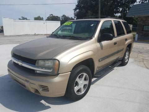 2004 Chevrolet TrailBlazer for sale at NINO AUTO SALES INC in Jacksonville FL