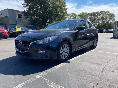 2016 Mazda MAZDA3 for sale at MIDWEST CAR SEARCH in Fridley MN