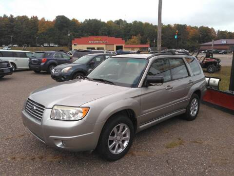2006 Subaru Forester for sale at Pepp Motors in Marquette MI