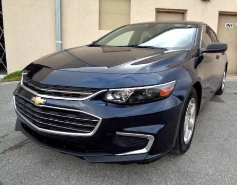 2017 Chevrolet Malibu for sale at Selective Motor Cars in Miami FL