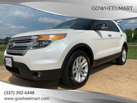 2014 Ford Explorer for sale at GOWHEELMART in Leesville LA
