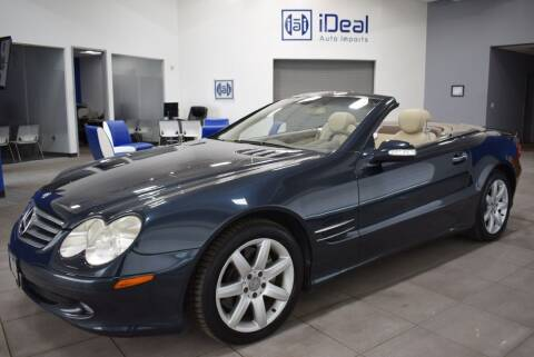 2003 Mercedes-Benz SL-Class for sale at iDeal Auto Imports in Eden Prairie MN