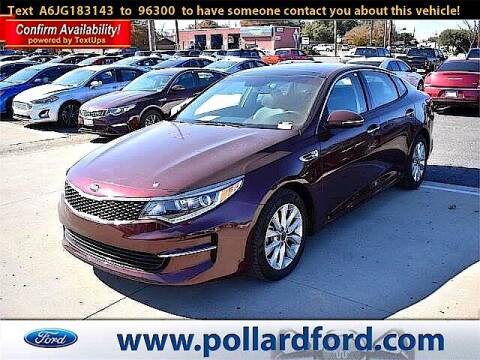 2018 Kia Optima for sale at South Plains Autoplex by RANDY BUCHANAN in Lubbock TX