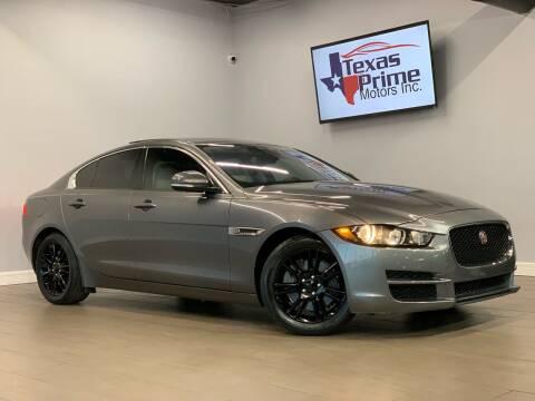 2017 Jaguar XE for sale at Texas Prime Motors in Houston TX