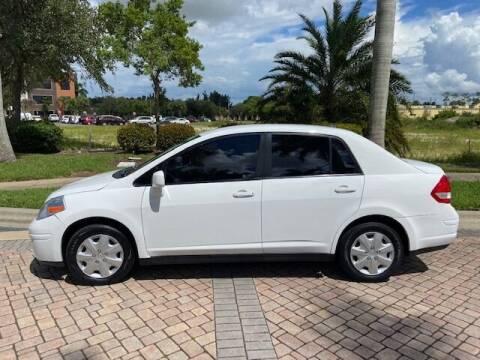 2011 Nissan Versa for sale at World Champions Auto Inc in Cape Coral FL