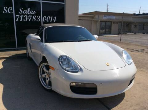 2008 Porsche Boxster for sale at SC SALES INC in Houston TX