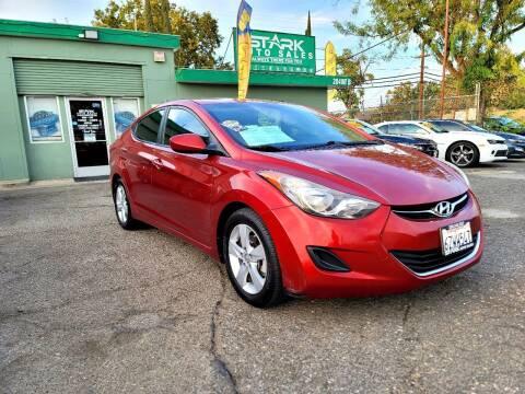 2013 Hyundai Elantra for sale at Stark Auto Sales in Modesto CA