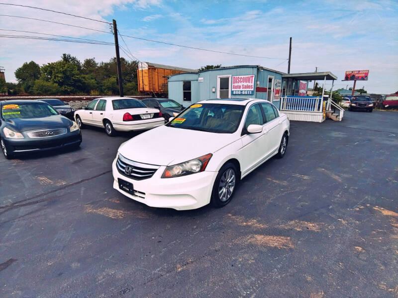 2012 Honda Accord for sale at DISCOUNT AUTO SALES in Murfreesboro TN