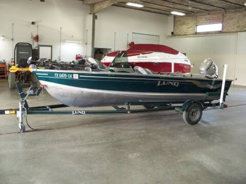 2003 LUND 1650  REBEL for sale at Tyndall Motors in Tyndall SD