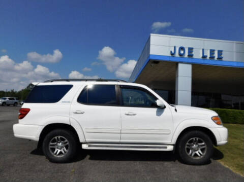 2003 Toyota Sequoia for sale at Joe Lee Chevrolet in Clinton AR