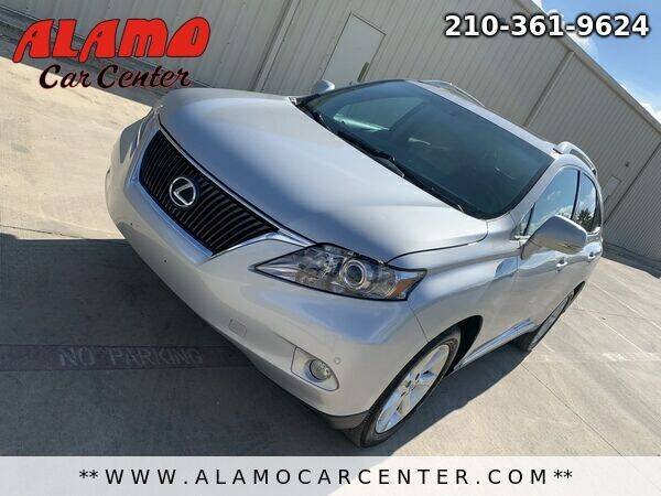 2010 Lexus RX 350 for sale at Alamo Car Center in San Antonio TX