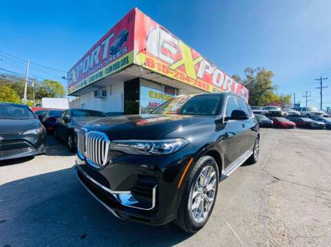 2020 BMW X7 for sale at EXPORT AUTO SALES, INC. in Nashville TN