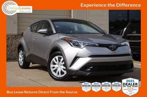 2019 Toyota C-HR for sale at Dallas Auto Finance in Dallas TX